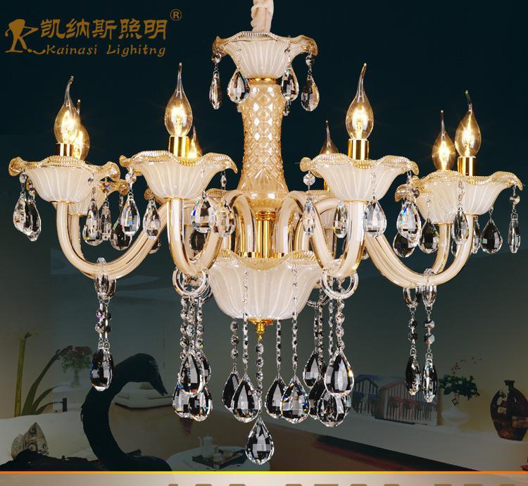 蜡烛吊灯儿童房灯大量批发欧式时尚经典灯饰居家水晶吊灯0图片