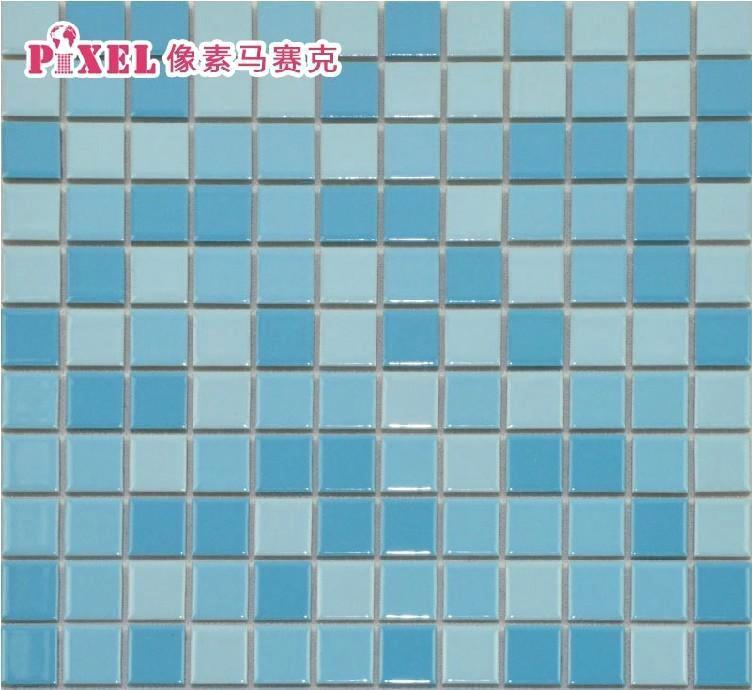 地中海风格 蓝色陶瓷马赛克 吧台 电视背景墙
