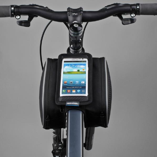 乐炫roswheel12813双边自行车触屏山地包前梁包马鞍包防水手机包空压机蒸发器图片