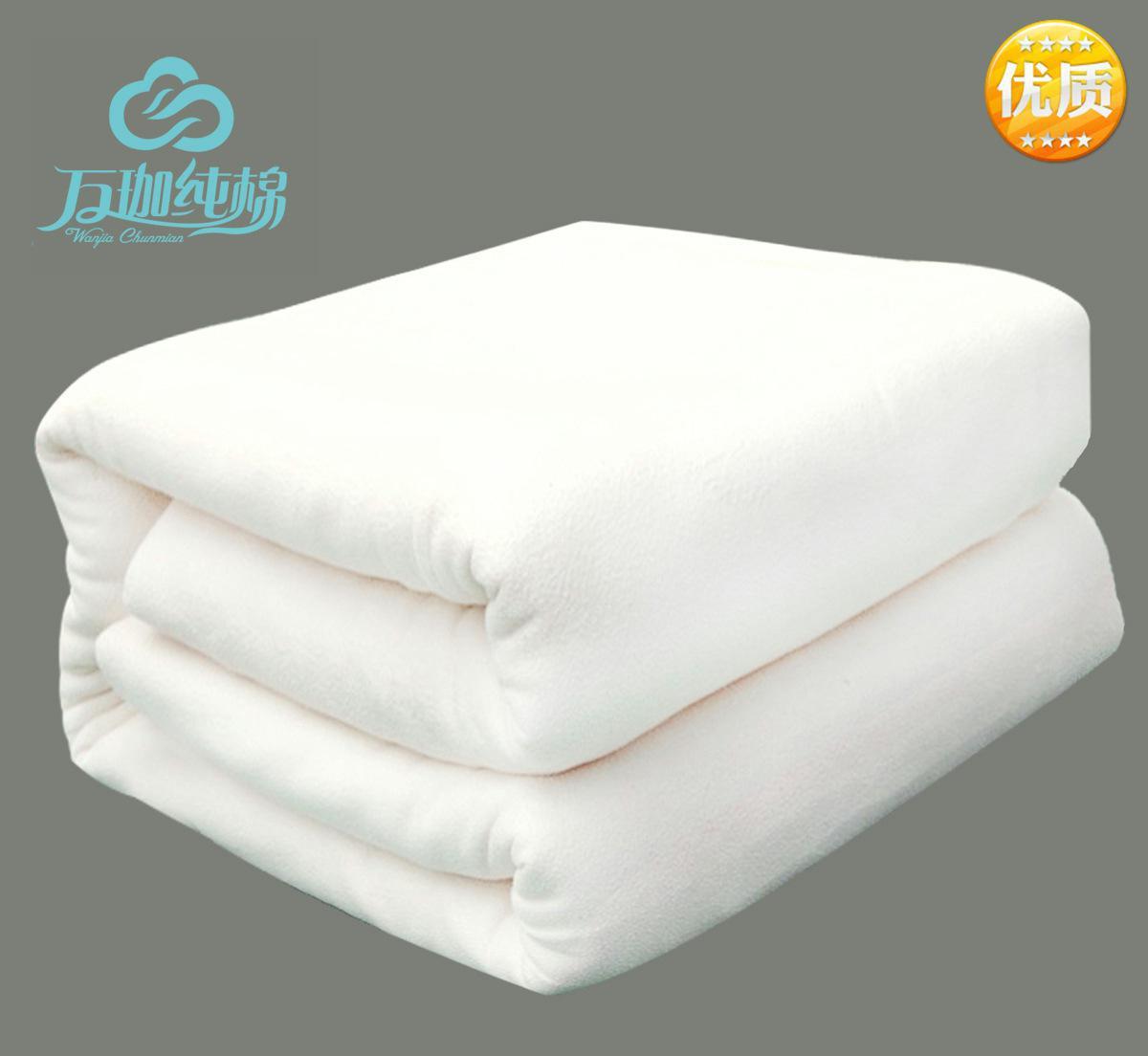 新疆棉花被棉胎棉絮便宜夏凉被厂家直销被芯6斤