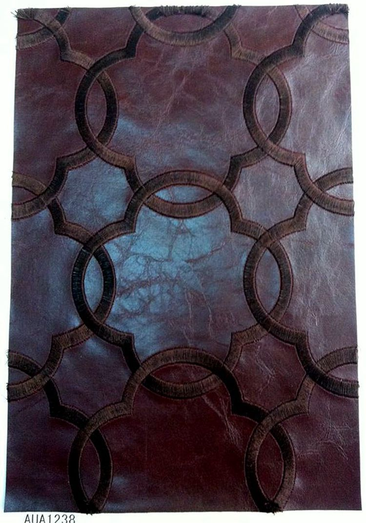 毛皮PVC酒店装饰皮革软包装饰沙发皮革箱包合成革面料
