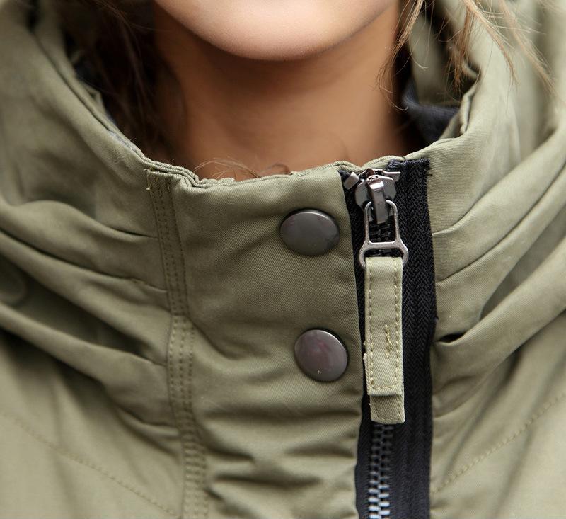 2013冬装新款时尚女装长款女式休闲棉大衣保暖潮流女棉服 批发
