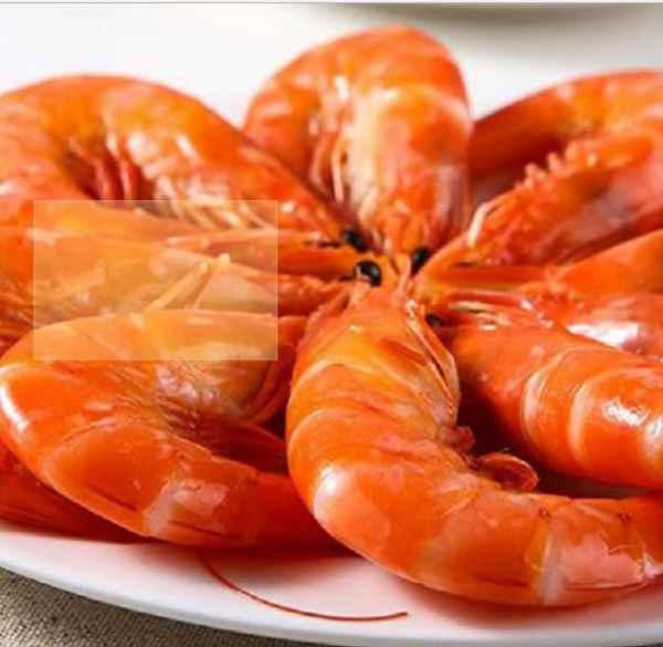 特级卤水熟虾