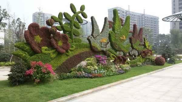 上海立体花坛制作公司