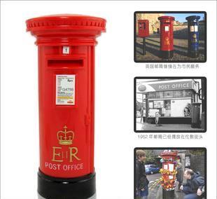 创意英国邮筒存钱罐1952年 英国邮筒存钱罐 创意邮筒存钱罐
