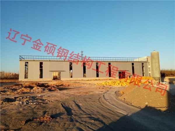 朝阳钢结构厂房设计