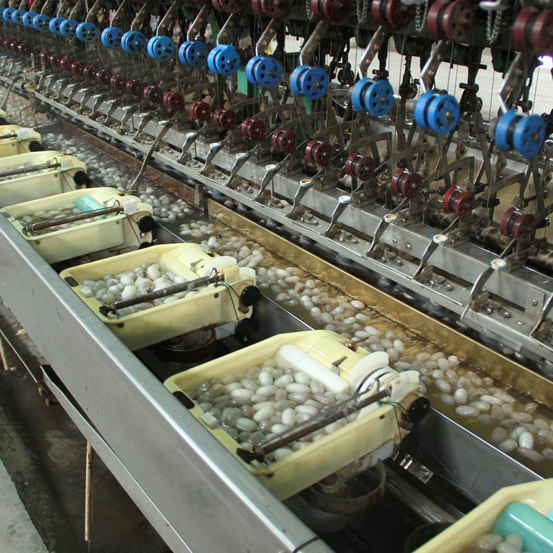 缫丝厂直供2022 白厂丝 5A级生丝 蚕丝原料