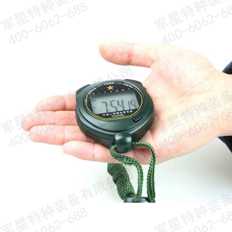 天福秒表 pc2002el秒表  防水夜光显示秒表  野外秒表