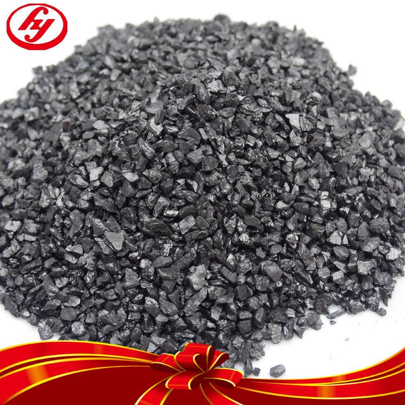 92%强度大颗粒无烟煤滤料 工业水净化材料无烟煤2-4mm