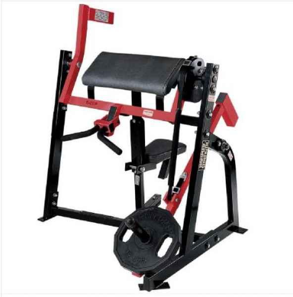 坐式二頭肌訓練器