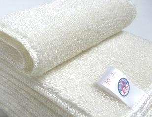 韩国竹纤维洗碗巾 抹布 不沾油洗碗布(双层加厚)直销