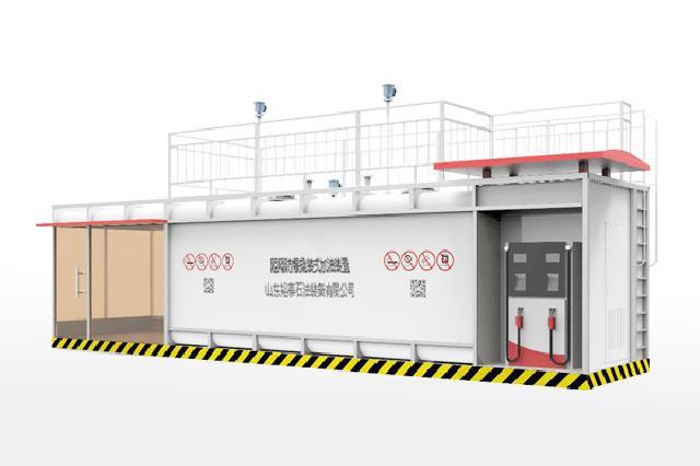 内蒙古易尚商贸——专业的10m³单平台箱式阻隔防爆撬装式加油装置提供商,内蒙古撬装