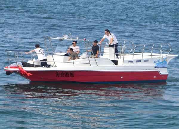珠三角观光拖伞船