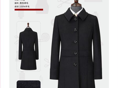 长款大衣定制图片——郑州款式新颖的大衣批发出售