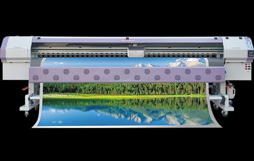 天彩宽幅写真机喷绘写真机压电写真机2017新款