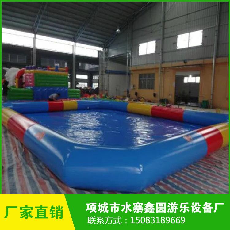 厂家直销儿童充气水池 大型PVC充气水池 充气水池游泳池定制批发