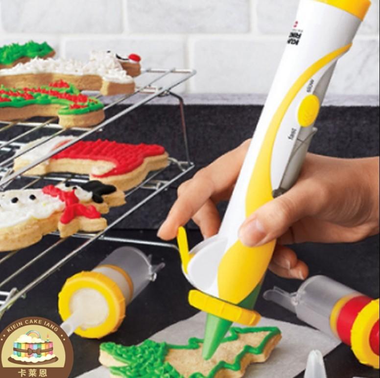 烘培工具电动裱花器 手动裱花笔 奶油蛋糕装饰笔  DIY蛋糕模具