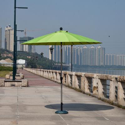 供应 遮阳伞 户外高档庭院伞 广告休闲庭院伞带转向 海边沙滩多面雨伞