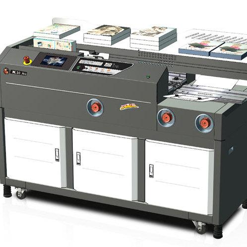 彩霸K10高速重型胶装机    胶装机领导品牌   批发供应胶装机