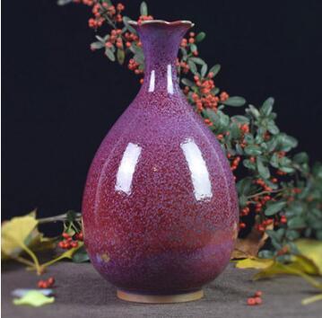 禹州钧瓷花瓶 摆设 家居 装饰瓷器