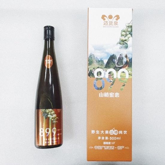 邁登泉 899山楂蜜戀 野生大果山楂純飲 時尚酒飲 廣西靖西市名特酒品 500ml