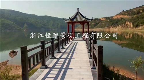 浙江恒雅景观工程有限公司 仿木护栏厂家 嘉兴仿木护栏