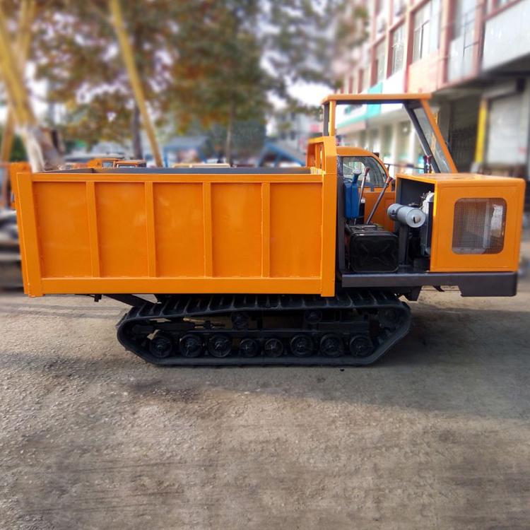 农用履带运输车 3吨履带式拖拉机 水利改造履带运输车图片
