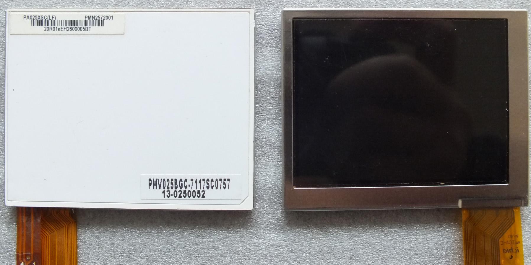 现货供应元太2.5寸模拟屏PA025XSC 全新现货另有元太全系列工业屏