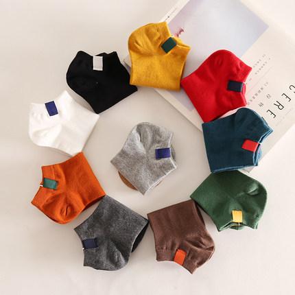 供應 可愛女襪短筒學生韓國棉襪