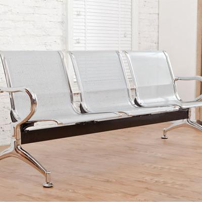 排椅机场椅三人位银行不锈钢等候椅3人位连排候诊输液椅