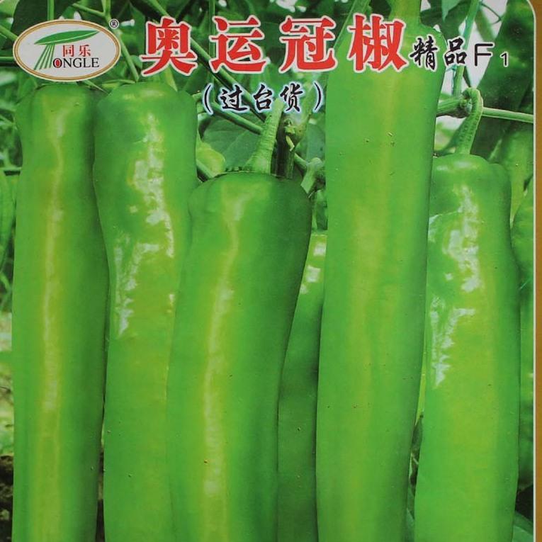 奥运冠椒高产牛角椒尖椒辣椒种子