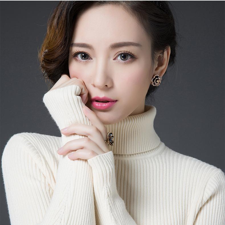 美丽啪高品质羊毛衫毛衣女免费试用