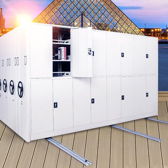 密集架移动档案密集柜档案室密集资料架手动电动文件柜厂家档案柜