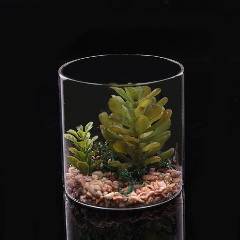 浦江绿植 仿真绿植 水杯玻璃杯绿植