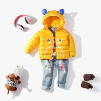 供应 新款宝宝羽绒服棉服 新款儿童卡通韩版羽绒棉衣外套