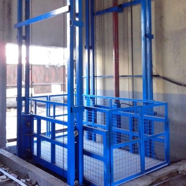 导轨式升降货梯生产厂家 液压升降平台出厂价 链条式升降机