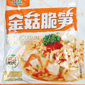 供应 福建宝食金菇脆笋320gX20包酱腌菜
