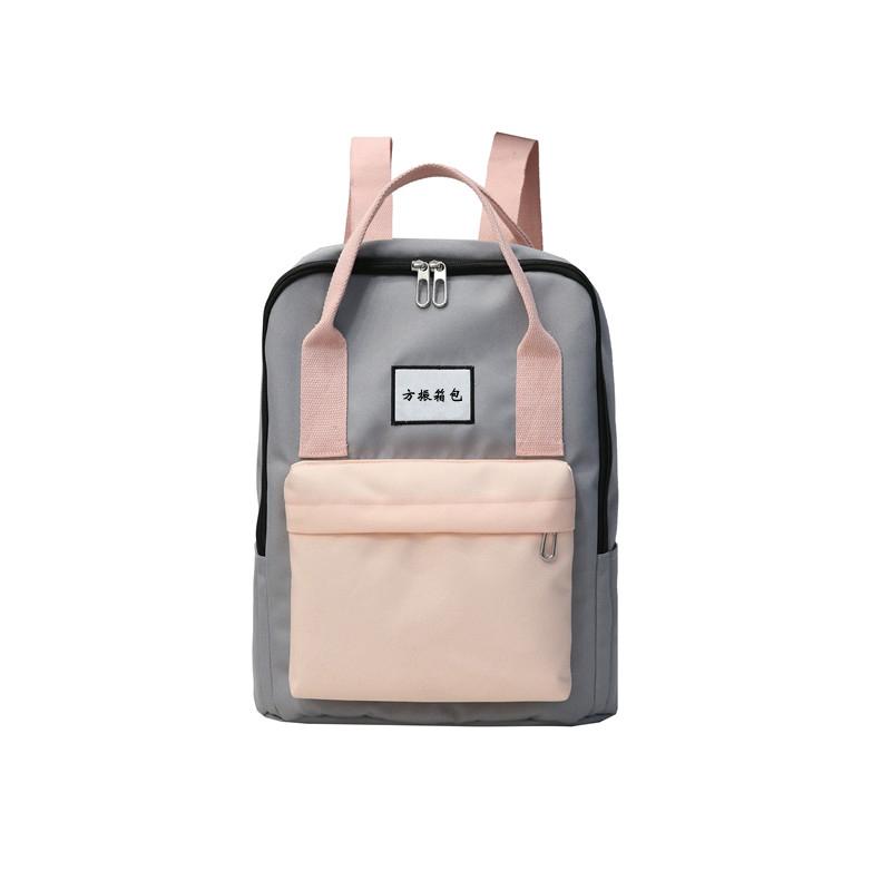 工厂供应定制学生书包双肩背包来图打样可定制logo-1