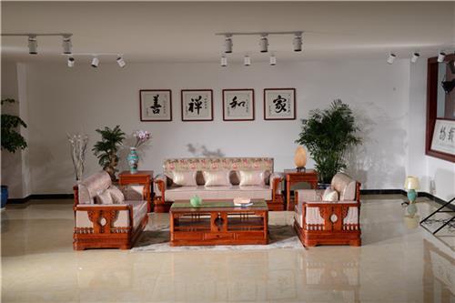 红木沙发,云集红木家具大师精品,红木沙发十件套