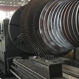 专业激光修复工艺在汽轮机转子轴颈磨损中的应用