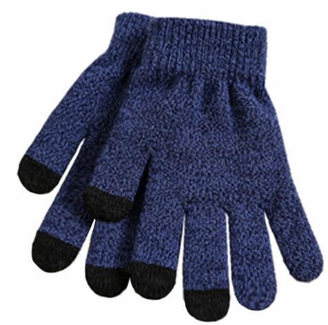 供应 新款情侣触屏针织手套男女士冬季