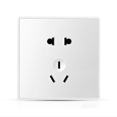 USB家用墙壁  86型带开关五孔插座