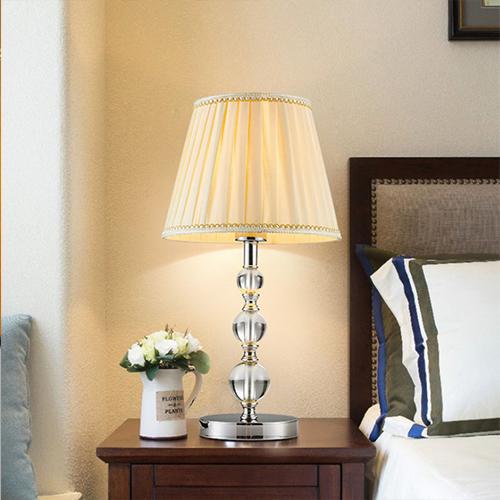 供应 欧式水晶台灯 创意简约装饰台灯