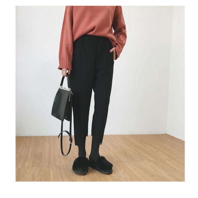 美丽啪秋冬必备不规则毛呢裤免费试用