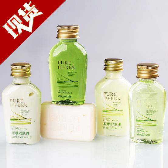 供应 高端酒店用品 一次性洗发液沐浴液 品牌洗发液套装产品