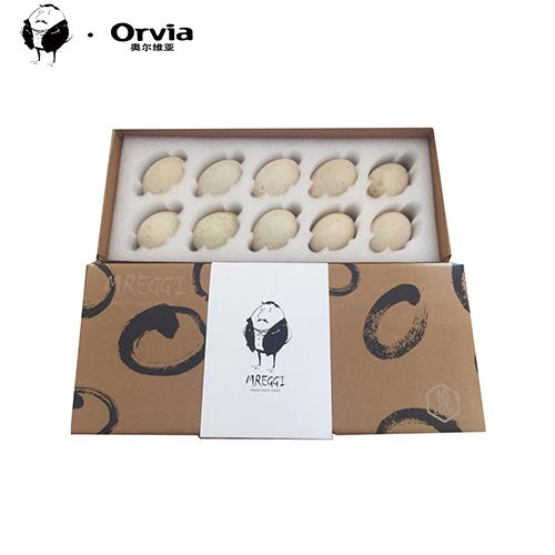 蛋先生丶Mreggi 法国蛋源奥尔维亚新鲜曾祖鲜代鸭蛋10枚每盒
