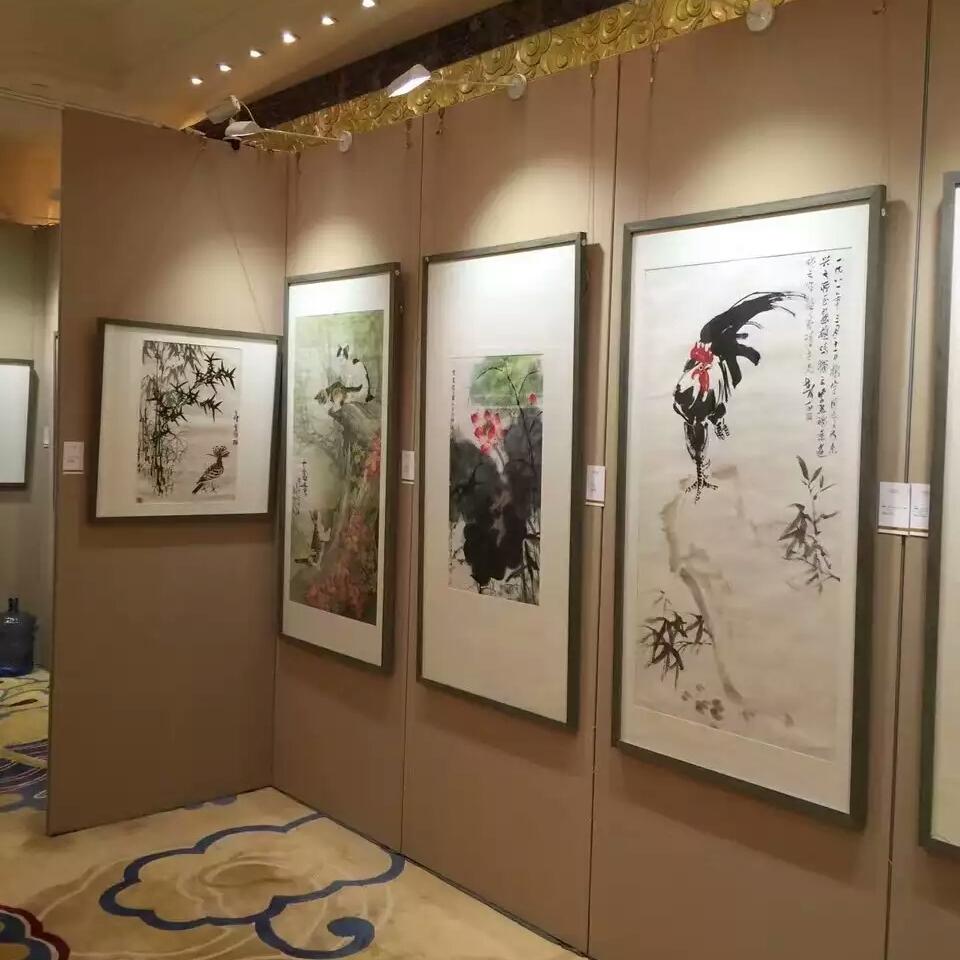 北京布面书法挂画展板租赁 布面展墙租赁销售