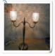 健力五金工厂加工定制水晶灯罩工艺铁线灯罩金属支架灯罩灯饰配件