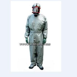 防毒服-隔绝式防毒服-连体式胶布防毒衣-警用防
