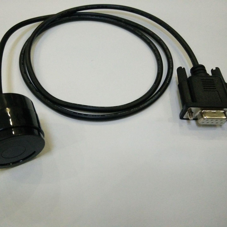 供应 232串口 (ANSI规约) 电表吸附式光电头 ANSI红外抄表 近红外抄表 北美抄表光电头